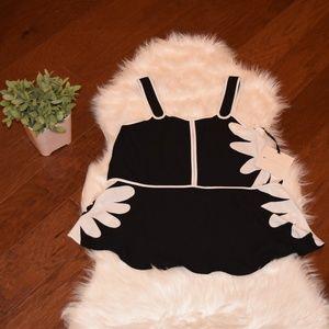 [Victoria Beckham] Black & White Top XS NWT